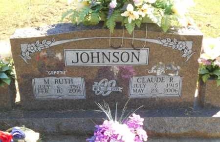 JOHNSON, CLAUDE RAYMOND - Howell County, Missouri | CLAUDE RAYMOND JOHNSON - Missouri Gravestone Photos
