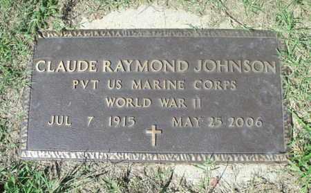 JOHNSON, CLAUDE RAYMOND  VETERAN WWII - Howell County, Missouri | CLAUDE RAYMOND  VETERAN WWII JOHNSON - Missouri Gravestone Photos