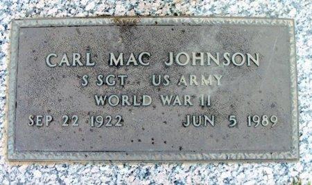 JOHNSON, CARL MAC VETERAN WWII - Howell County, Missouri | CARL MAC VETERAN WWII JOHNSON - Missouri Gravestone Photos