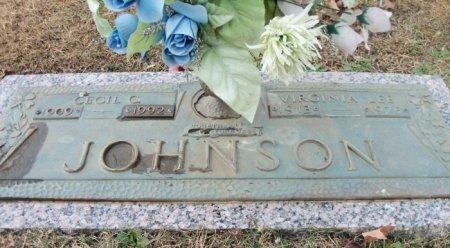 JOHNSON, CECIL CLINTON - Howell County, Missouri | CECIL CLINTON JOHNSON - Missouri Gravestone Photos