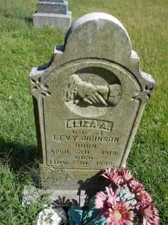 JOHNSON, ELIZA ANN - Howell County, Missouri | ELIZA ANN JOHNSON - Missouri Gravestone Photos