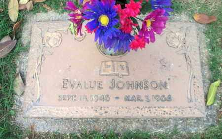 JOHNSON, EVALUE - Howell County, Missouri | EVALUE JOHNSON - Missouri Gravestone Photos