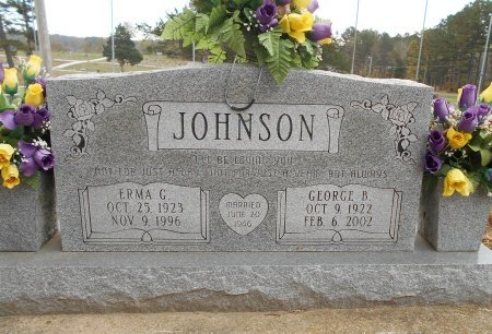 JOHNSON, GEORGE B. - Howell County, Missouri | GEORGE B. JOHNSON - Missouri Gravestone Photos