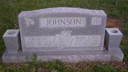 JOHNSON, MARY EDNA - Howell County, Missouri | MARY EDNA JOHNSON - Missouri Gravestone Photos
