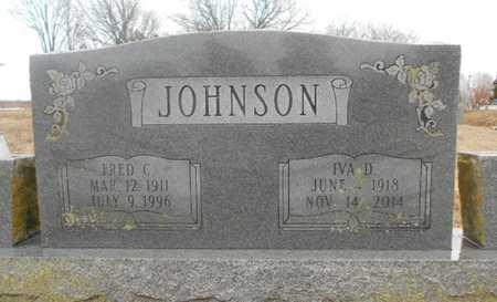 JOHNSON, FRED C. - Howell County, Missouri   FRED C. JOHNSON - Missouri Gravestone Photos