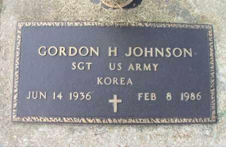 JOHNSON, GORDON H. VETERAN KOREA - Howell County, Missouri | GORDON H. VETERAN KOREA JOHNSON - Missouri Gravestone Photos