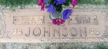 JOHNSON, LUCY A. - Howell County, Missouri | LUCY A. JOHNSON - Missouri Gravestone Photos