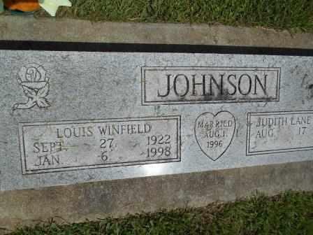 JOHNSON, LOUIS WINFIELD - Howell County, Missouri | LOUIS WINFIELD JOHNSON - Missouri Gravestone Photos