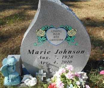 JOHNSON, MARIE - Howell County, Missouri | MARIE JOHNSON - Missouri Gravestone Photos