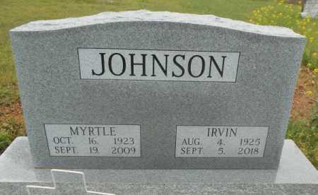 JOHNSON, IRVIN  - Howell County, Missouri | IRVIN  JOHNSON - Missouri Gravestone Photos