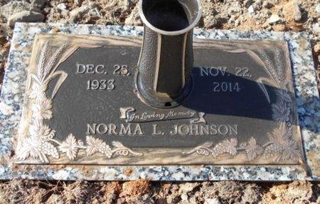 JOHNSON, NORMA LAVONNE - Howell County, Missouri | NORMA LAVONNE JOHNSON - Missouri Gravestone Photos