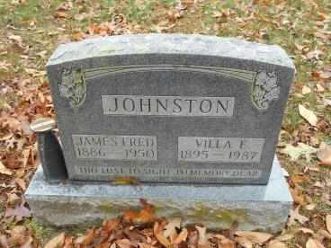 PENTECOST JOHNSTON, VILLA - Howell County, Missouri | VILLA PENTECOST JOHNSTON - Missouri Gravestone Photos