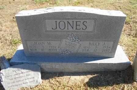 JONES, JOAN M - Howell County, Missouri | JOAN M JONES - Missouri Gravestone Photos