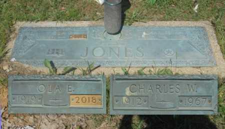 JONES, CHARLES W. - Howell County, Missouri | CHARLES W. JONES - Missouri Gravestone Photos