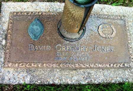 JONES, DAVID GREGORY - Howell County, Missouri   DAVID GREGORY JONES - Missouri Gravestone Photos