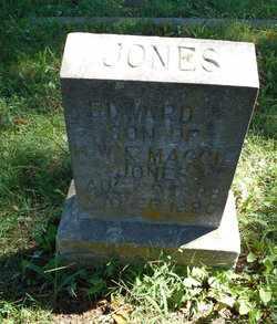 JONES, EDWARD F. - Howell County, Missouri   EDWARD F. JONES - Missouri Gravestone Photos