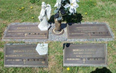 JONES, ESTHER L. - Howell County, Missouri | ESTHER L. JONES - Missouri Gravestone Photos