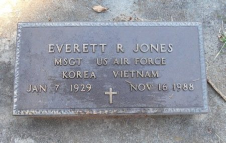 JONES, EVERETT R. VETERAN KOREA VIETNAM - Howell County, Missouri | EVERETT R. VETERAN KOREA VIETNAM JONES - Missouri Gravestone Photos