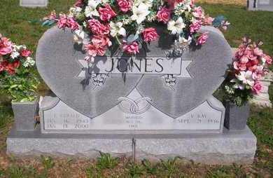 JONES, GERALD - Howell County, Missouri   GERALD JONES - Missouri Gravestone Photos