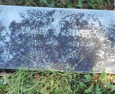 JONES, GRACE - Howell County, Missouri | GRACE JONES - Missouri Gravestone Photos