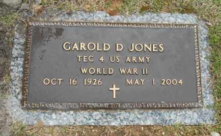 JONES, GAROLD D. VETERAN WWII - Howell County, Missouri   GAROLD D. VETERAN WWII JONES - Missouri Gravestone Photos