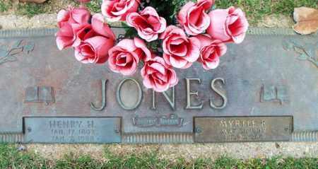 JONES, MYRTLE RAY - Howell County, Missouri | MYRTLE RAY JONES - Missouri Gravestone Photos