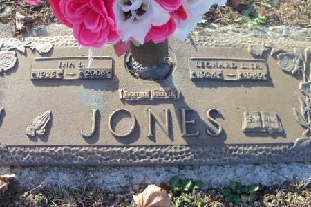 JONES, LEONARD L., SR. - Howell County, Missouri | LEONARD L., SR. JONES - Missouri Gravestone Photos