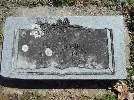 JONES, JACK - Howell County, Missouri   JACK JONES - Missouri Gravestone Photos
