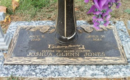 JONES, JOSHUA GLEN - Howell County, Missouri   JOSHUA GLEN JONES - Missouri Gravestone Photos