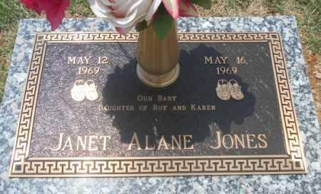 JONES, JANET ALANE - Howell County, Missouri | JANET ALANE JONES - Missouri Gravestone Photos