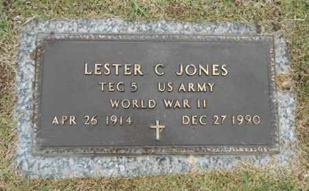 JONES, LESTER C. VETERAN WWII - Howell County, Missouri   LESTER C. VETERAN WWII JONES - Missouri Gravestone Photos