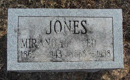 JONES, MIRANDA - Howell County, Missouri | MIRANDA JONES - Missouri Gravestone Photos