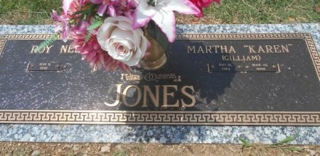 JONES, MARTHA KAREN - Howell County, Missouri   MARTHA KAREN JONES - Missouri Gravestone Photos