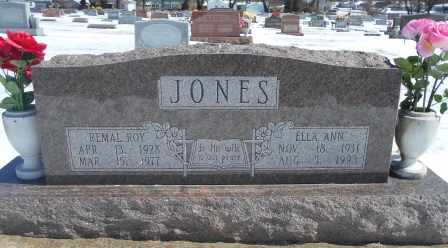 WILLIAMS JONES, ELLA ANN - Howell County, Missouri | ELLA ANN WILLIAMS JONES - Missouri Gravestone Photos