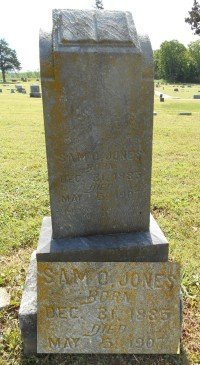 JONES, SAMUEL O. - Howell County, Missouri   SAMUEL O. JONES - Missouri Gravestone Photos