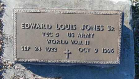 JONES, EDWARD LOUIS VETERN WWII - Howell County, Missouri | EDWARD LOUIS VETERN WWII JONES - Missouri Gravestone Photos