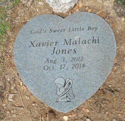 JONES, XAVIER MALACHI - Howell County, Missouri | XAVIER MALACHI JONES - Missouri Gravestone Photos
