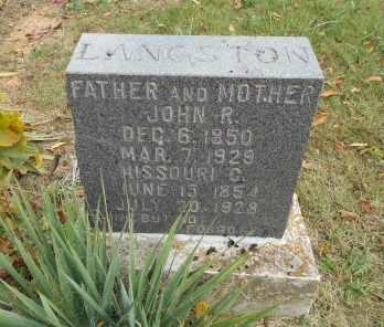 FORREST LANGSTON, MISSOURI C. - Howell County, Missouri | MISSOURI C. FORREST LANGSTON - Missouri Gravestone Photos