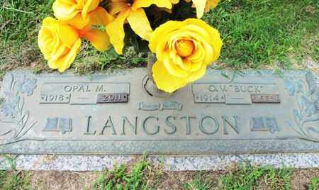 LANGSTON, OPAL M. - Howell County, Missouri | OPAL M. LANGSTON - Missouri Gravestone Photos