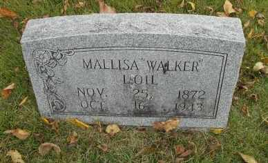 WRIGHT LOIL, MALLISA ELLEN - Howell County, Missouri | MALLISA ELLEN WRIGHT LOIL - Missouri Gravestone Photos