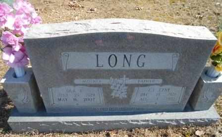 LONG, OLA B. - Howell County, Missouri | OLA B. LONG - Missouri Gravestone Photos