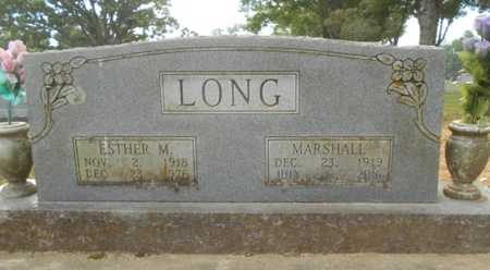 LONG, ESTHER - Howell County, Missouri | ESTHER LONG - Missouri Gravestone Photos