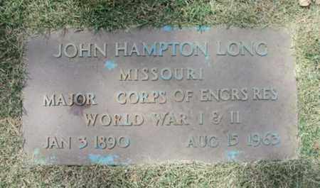 LONG, JOHN HAMPTON VETERAN WWI & II - Howell County, Missouri | JOHN HAMPTON VETERAN WWI & II LONG - Missouri Gravestone Photos