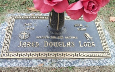 LONG, JARED DOUGLAS - Howell County, Missouri | JARED DOUGLAS LONG - Missouri Gravestone Photos
