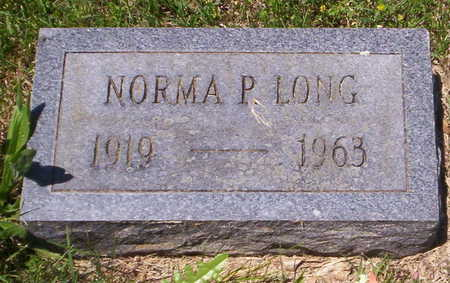 LONG, NORMA - Howell County, Missouri | NORMA LONG - Missouri Gravestone Photos