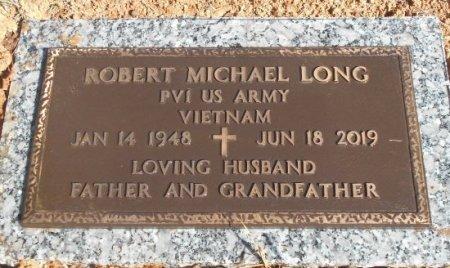 LONG, ROBERT MICHAEL VETERAN VIETNAM - Howell County, Missouri | ROBERT MICHAEL VETERAN VIETNAM LONG - Missouri Gravestone Photos