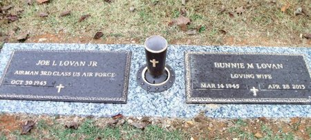 LOVAN, BUNNIE MAE - Howell County, Missouri | BUNNIE MAE LOVAN - Missouri Gravestone Photos