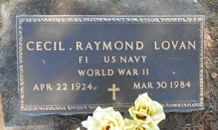 LOVAN, CECIL RAYMOND VETERAN WWII - Howell County, Missouri | CECIL RAYMOND VETERAN WWII LOVAN - Missouri Gravestone Photos