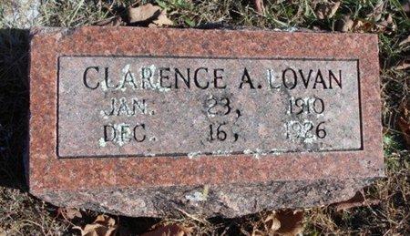 LOVAN, CLARENCE A. - Howell County, Missouri | CLARENCE A. LOVAN - Missouri Gravestone Photos