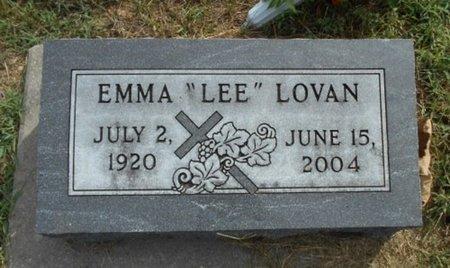 "LOVAN, EMMA CORDELIA ""LEE"" - Howell County, Missouri   EMMA CORDELIA ""LEE"" LOVAN - Missouri Gravestone Photos"